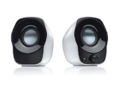 Stereo Speakers Z120 white USB